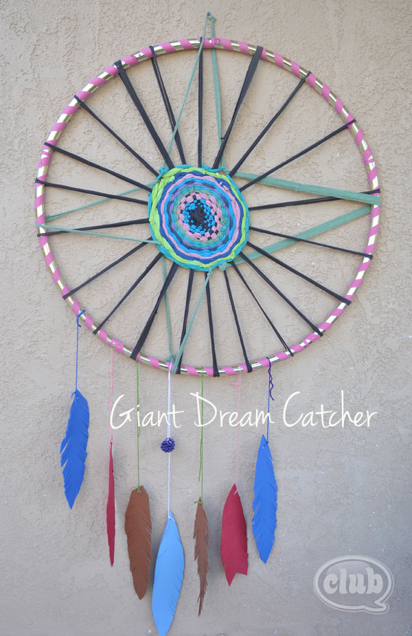 How to Make a Giant Dream Catcher