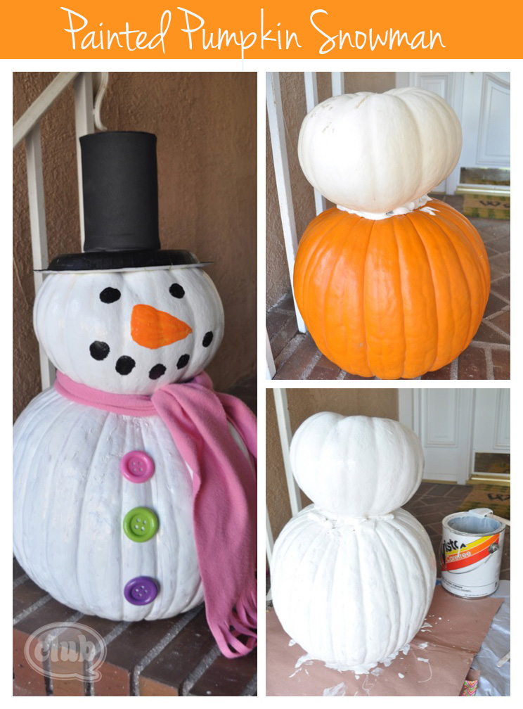 Painted snowman craft for How to paint snowmen