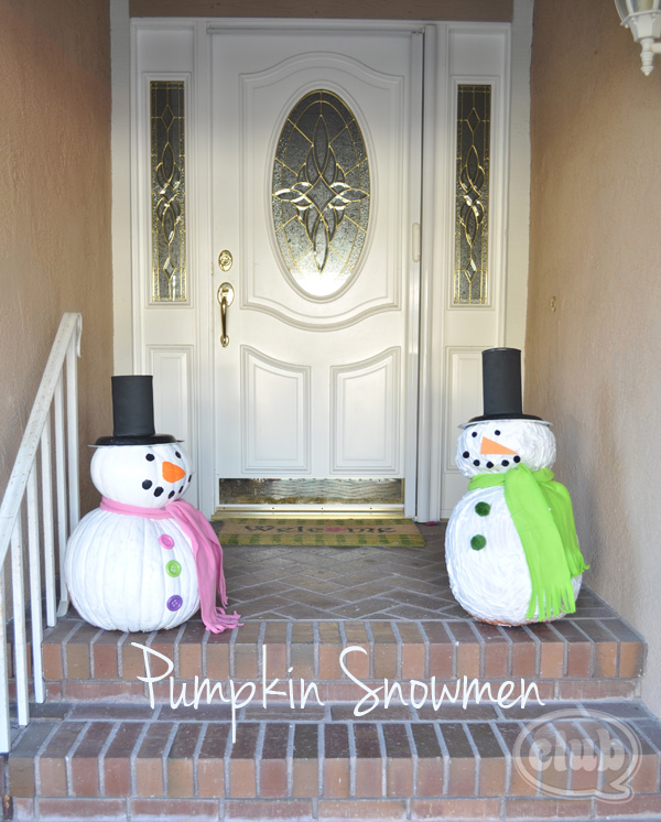 Painted Snowman Craft