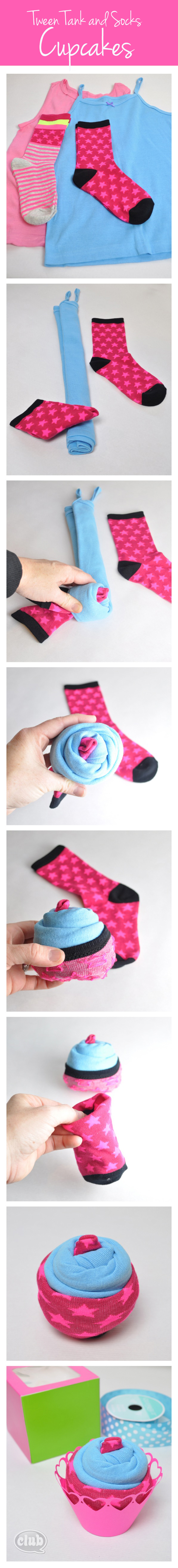 Cupcake Gift Box for Tween Girl DIY
