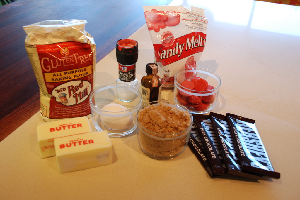 Grandma's Toffee Bar Ingredients