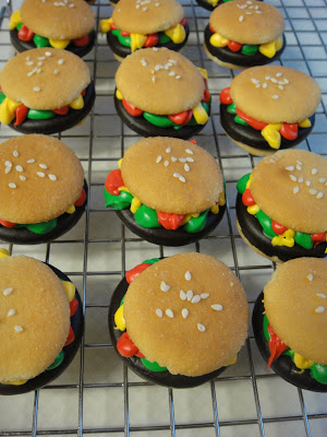 Hamburger Girl Scout Cookies