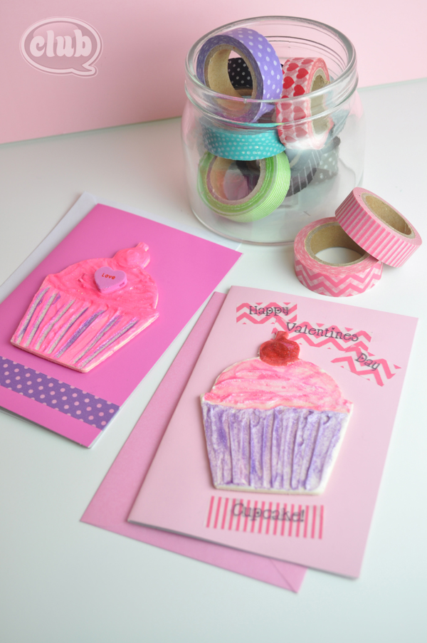 Washi Tape crafting on cards idea