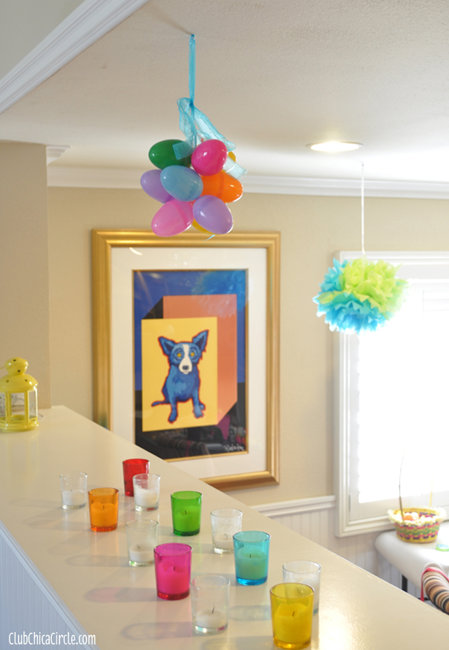 Easter Egg party decoration craft idea