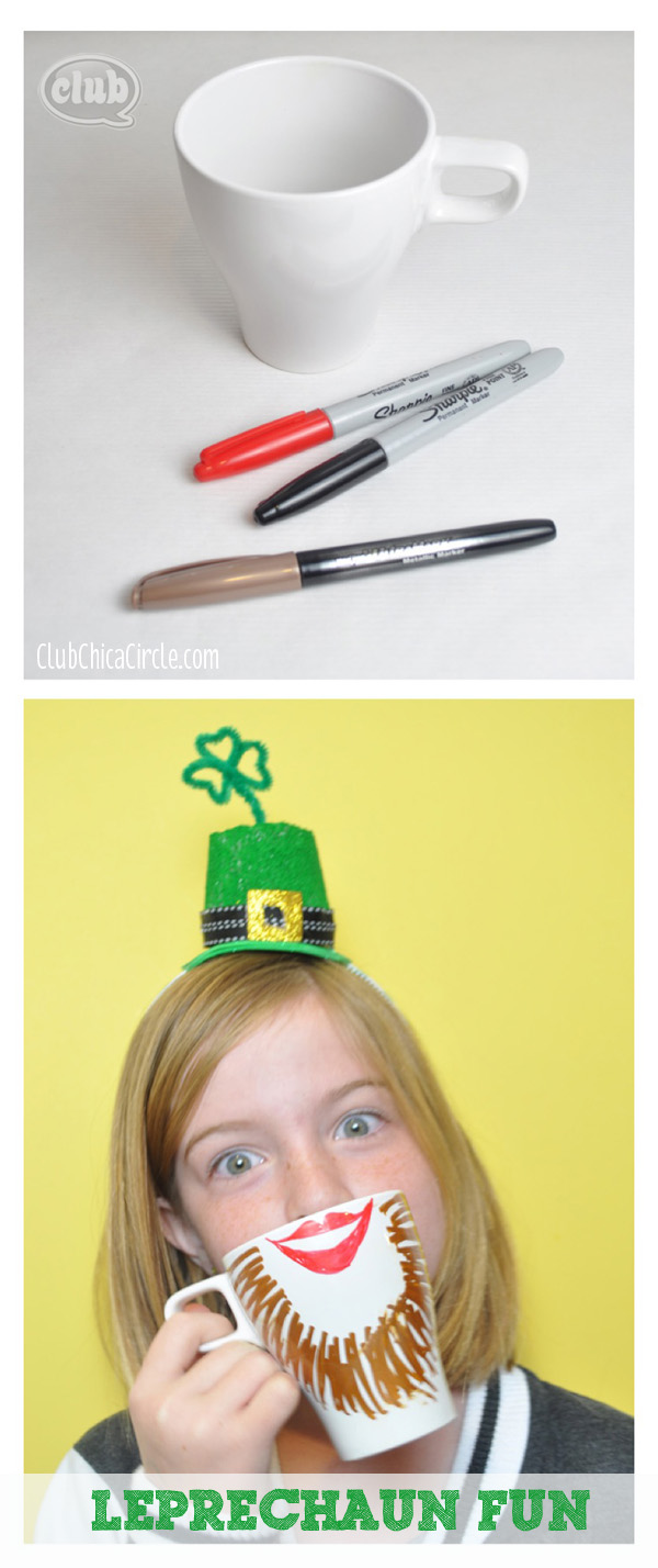 Leprechaun Coffee Mug Craft idea