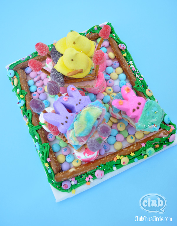 Peeps Candy Diorama House Craft Idea
