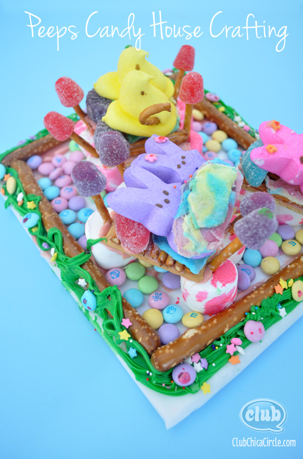Peeps Candy House Crafting