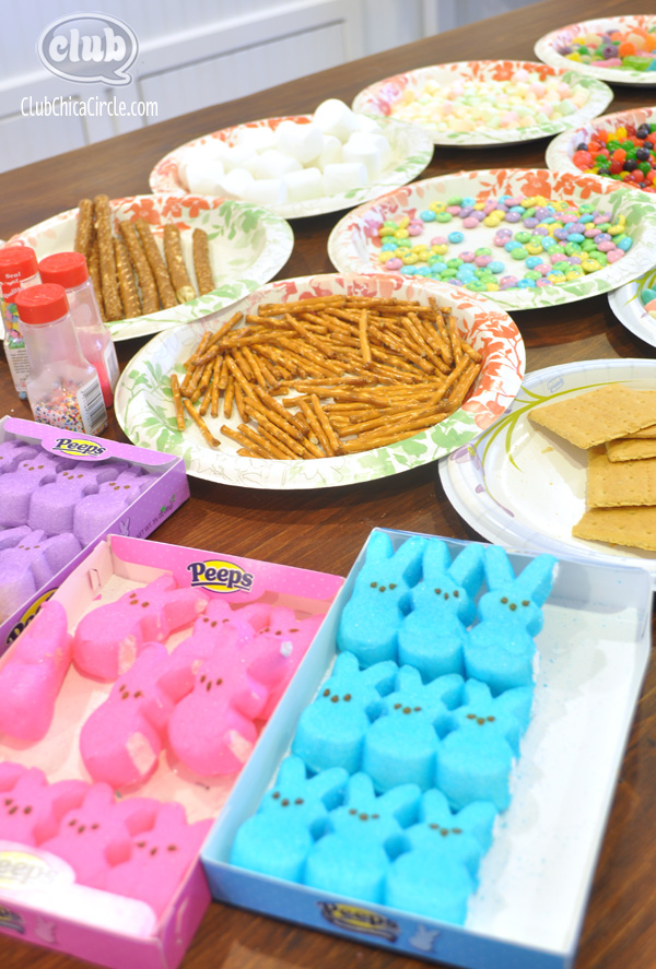 Peeps Candy House Supplies