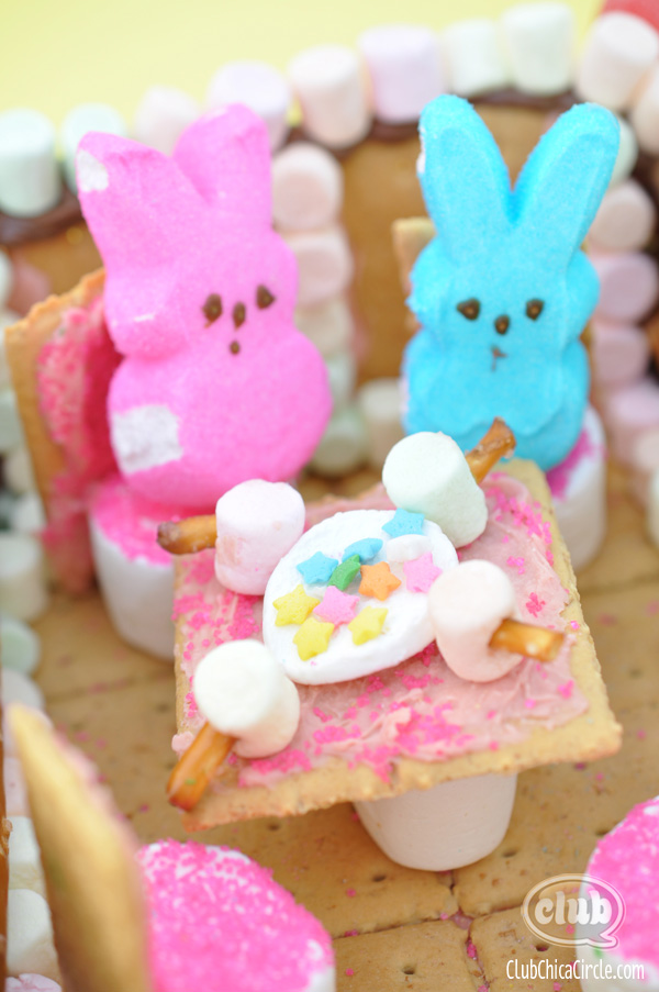Peeps Candy Tea Party Craft Idea