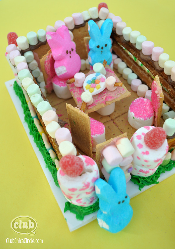 Peeps Diorama Candy Tea Party