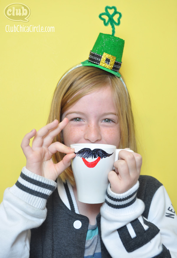 ST. Patrick's Day crafting fun for kids