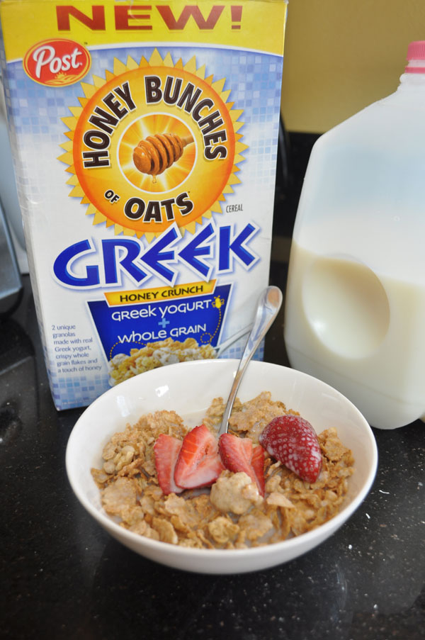 Honey Bunches of Oats Greek Yogurt cereal