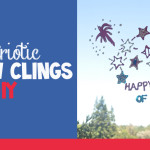 4th of July Window Clings craft idea for kids @clubchicacircle