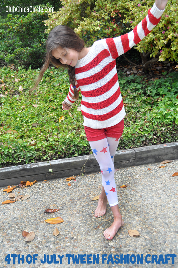 4th of July fashion for tween girl @clubchicacircle