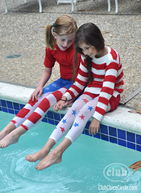 4th of July holiday craft idea for tweens