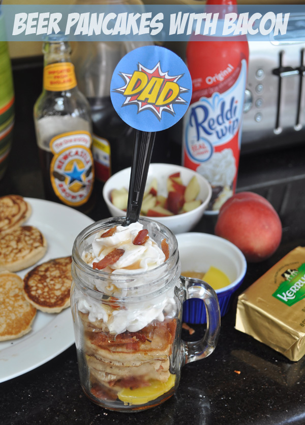 Father's Day Pancakes in a Jar