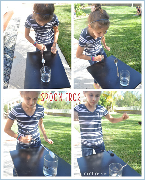SPOON FROG MINUTE TO WIN IT FOR KIDS