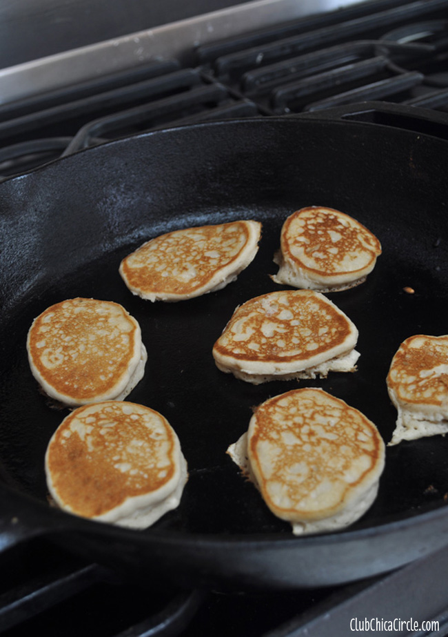 Silver-Dollar-Beer-Pancakes Father's Day idea