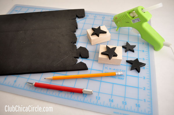 homemade stamps craft supplies