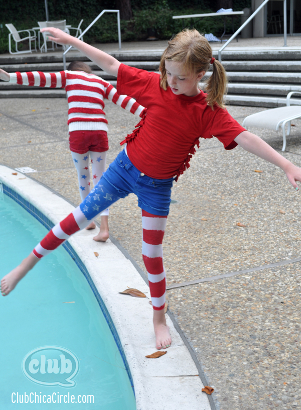 Tween 4th Of July Fashion Craft Idea Clubchicacircle