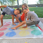 Backyard Bubble Twister Game @clubchicacircle