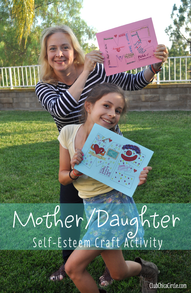 Mother Daughter Self-esteem activity