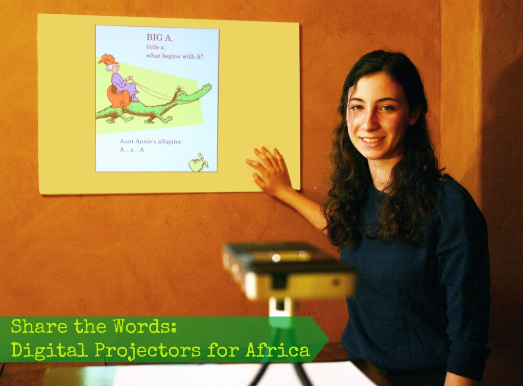Share the Words- Digital Projectors for Africa