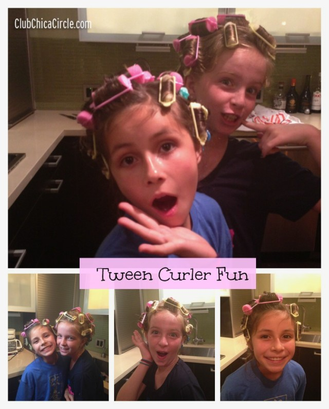 Tween Curler Fun