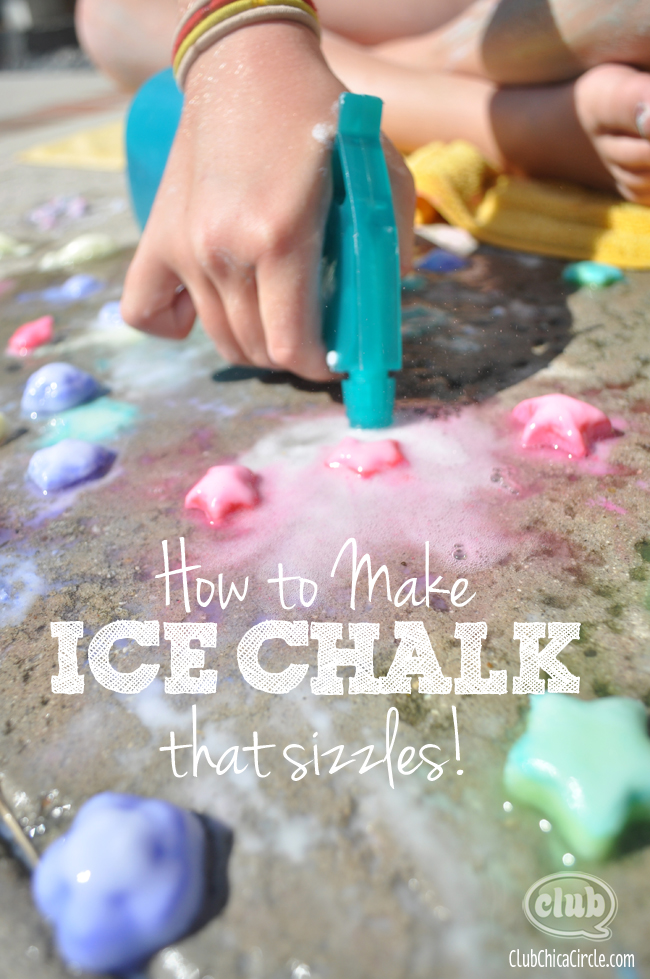 how to make ice chalk sizzle @clubchicacircle