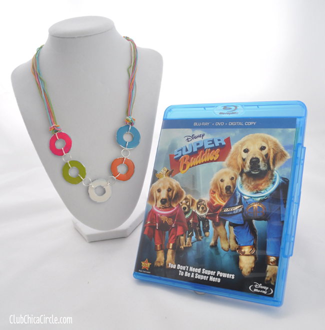 Disney Super Buddies Super Power Friendship Necklace craft