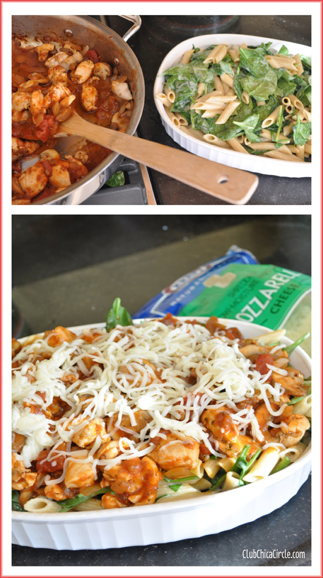 Kraft Recipe Makers Easy Chicken Florentine