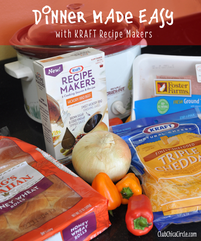 Kraft recipe makers hickory BBQ recipe idea