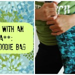 Upcycle Hoodie Bag- It starts with and idea!