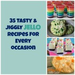 35 Jello Recipes Collage