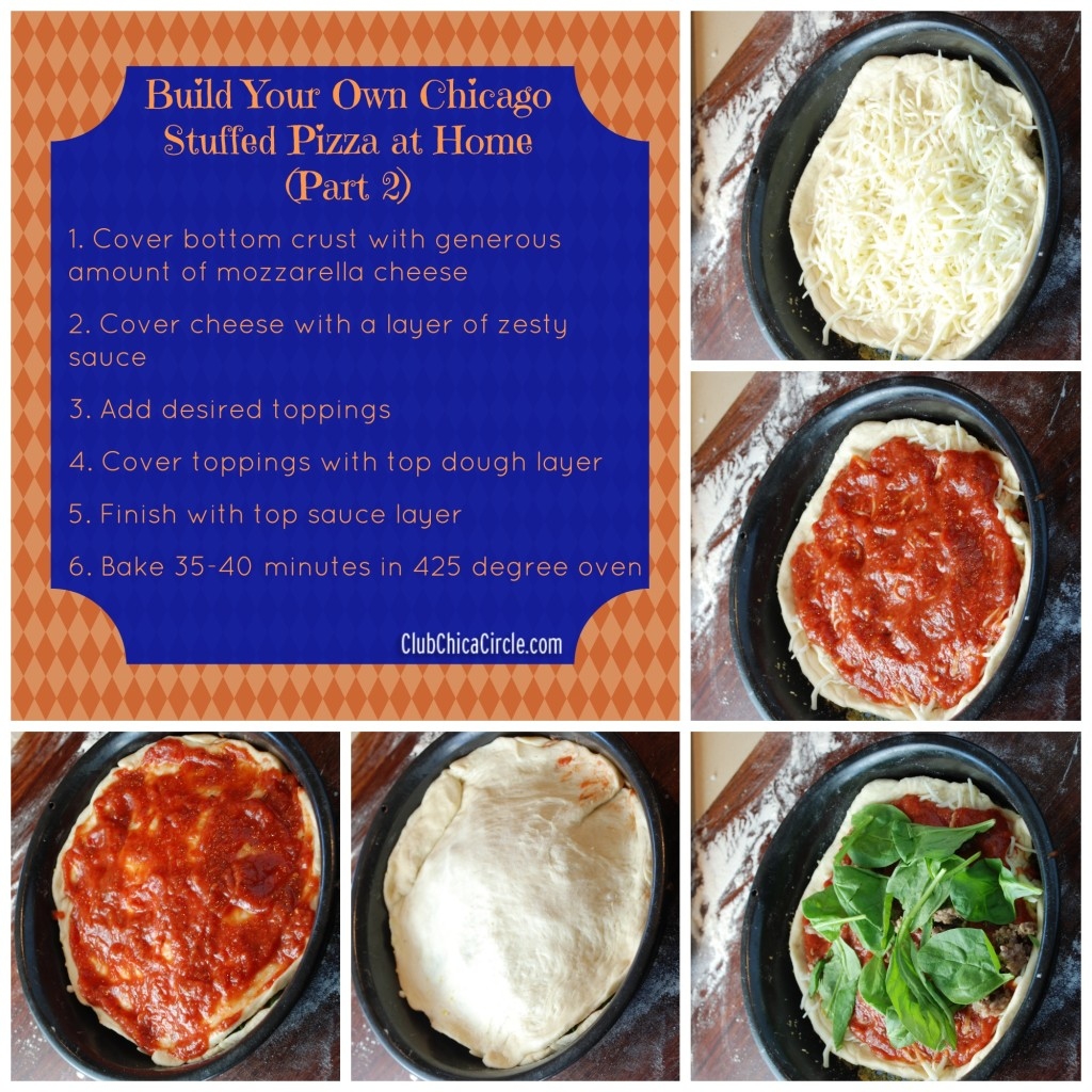 Build Your Own Chicago Stuffed Pizza at Home- Part 2