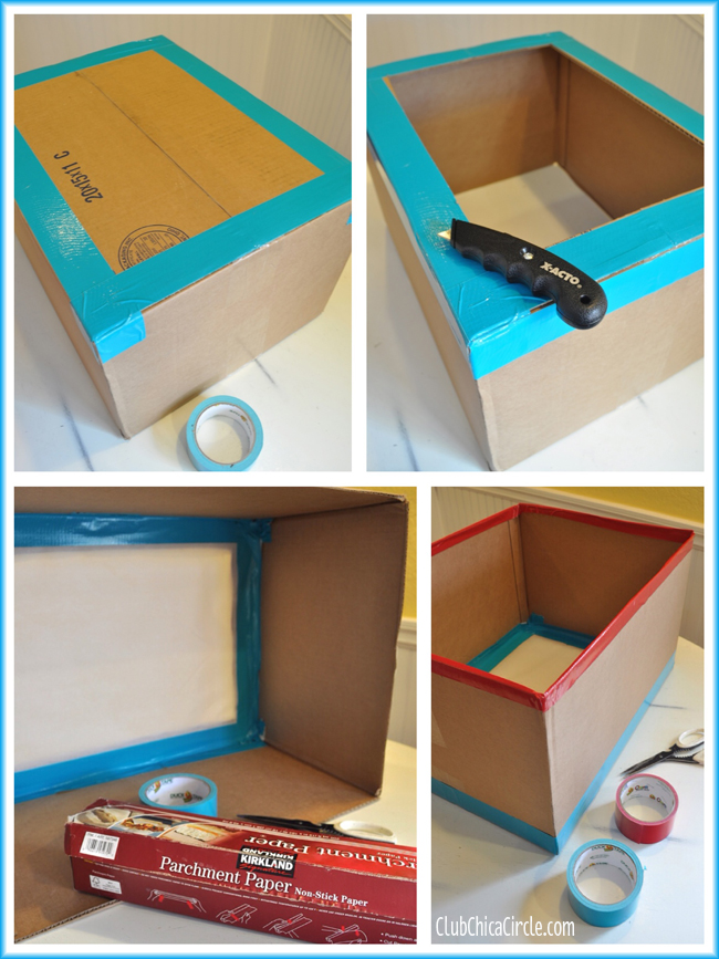 Make up kit box for kids
