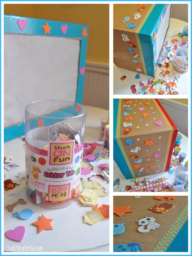 Shadow Box TV Craft Idea With PomTree Kids Magnificent Ideas To Decorate A Box