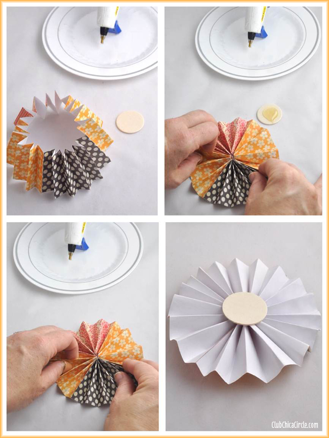 Thanksgiving paper flower mason jar gift idea easy paper flower craft tutorial mightylinksfo