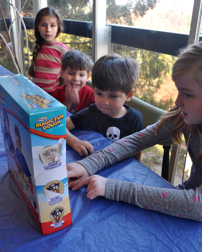 Family Fun with Magic Fun Dough