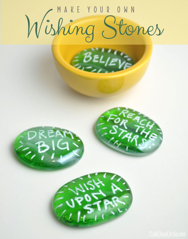 Make Your Own Wishing Stones Gift Idea