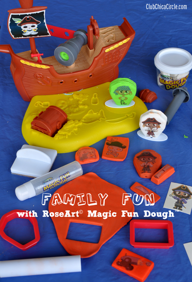 RoseArt Magic Fun Dough Pirate Cove Playset