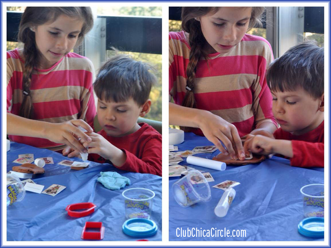 Sister and Brother Magic Fun Dough activity