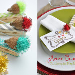 Thanksgiving napkin ring craft idea @clubchicacircle
