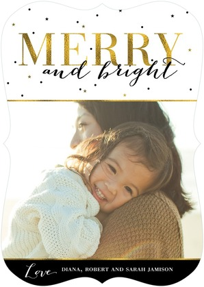 merry and bright - glitters