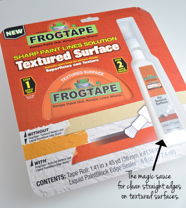 Frog Tape® package with magic sealer