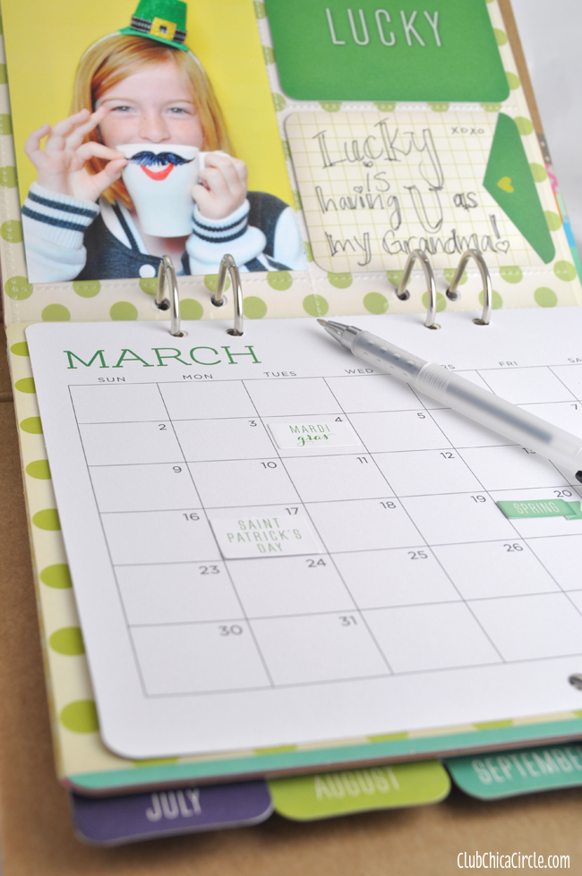 Michaels Recollection Calendar Kit Gift Idea