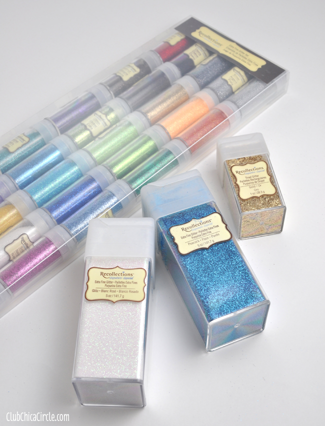 Michaels Recollections Glitter packs