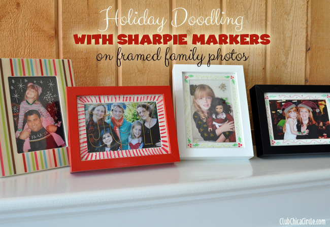 Sharpie Holiday Doodling Craft Idea @clubChicacircle