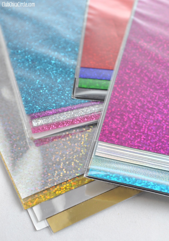 Tulip Fashion Glitter Iron on Transfer sheets copy