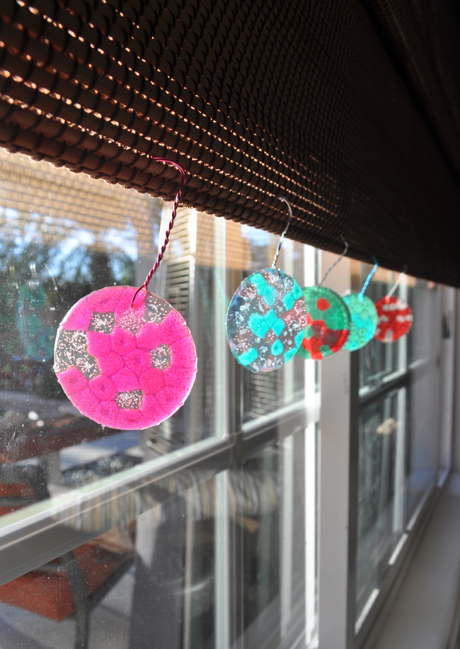 BBQ bead ornament suncatchers
